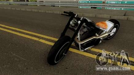 HardTail Sport Bobber 1700CC HD for GTA San Andreas