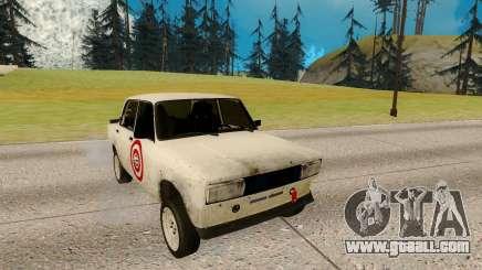 VAZ 2105 white for GTA San Andreas