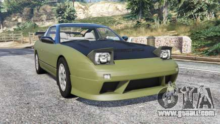 Nissan 240SX SE (S13) tuning v1.1 [replace] for GTA 5