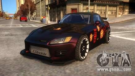 Fast And Furious 1 Honda S2000 Movie Car for GTA 4