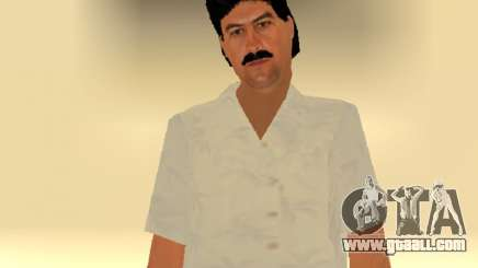 Pablo Emilio Escobar by MFR for GTA San Andreas