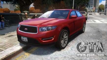 Vapid Torrence (Civilian Interceptor) for GTA 4