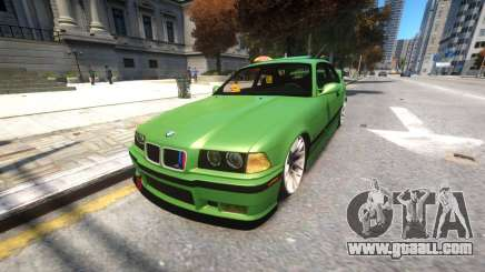 BMW E36 Street Tuning for GTA 4