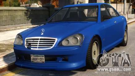 Mercedes-Benz Schafter Conversion for GTA 4