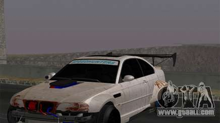 BMW M3 E46-DAYZ for GTA San Andreas