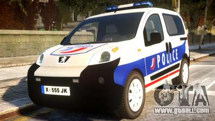 Peugeot Bipper Police for GTA 4