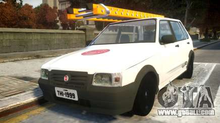 Fiat Uno Mille De Firma for GTA 4