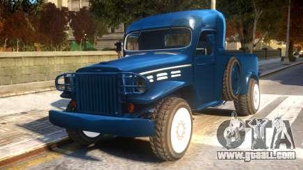 World War II Pick Up for GTA 4