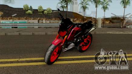 Honda MSX Modified red for GTA San Andreas