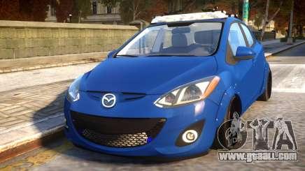 Mazda 2 DRIFT Car for GTA 4
