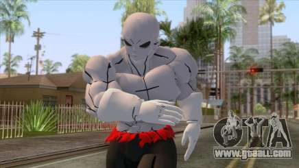 Jiren Shirtless Skin for GTA San Andreas