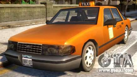 GTA III Taxi for IV v1.0 for GTA 4