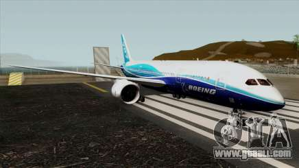 Boeing 787-8 Boeing House Colors for GTA San Andreas