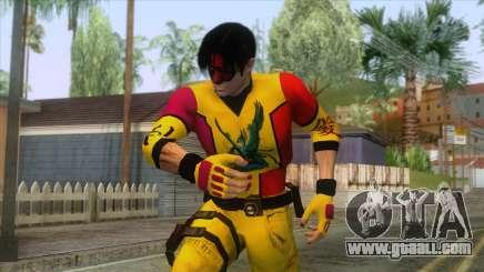 Masked Leon Skin v2 for GTA San Andreas