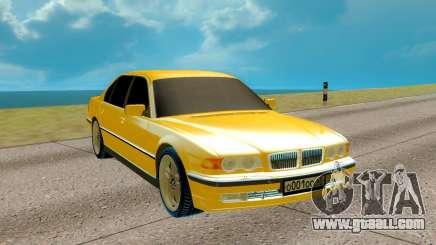 BMW E38 750iL 7 Series for GTA San Andreas