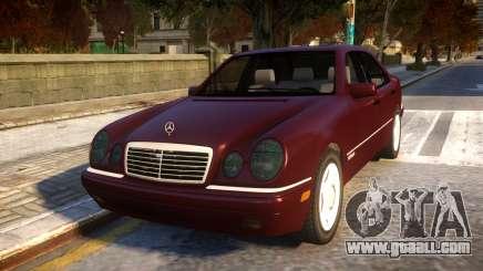 Mercedes-Benz E420 for GTA 4