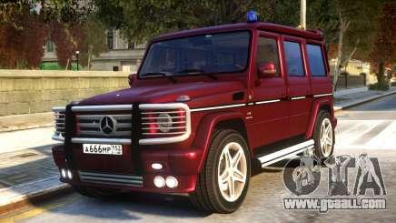 Mercedes-Benz G55 AMG v1.1 for GTA 4