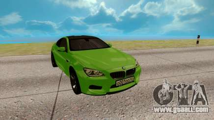 BMW M6 green for GTA San Andreas