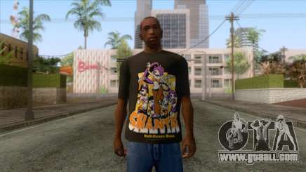 Shantae T-Shirt 1 for GTA San Andreas
