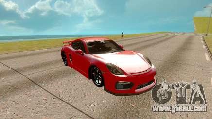 Porsche Cayman 2017 for GTA San Andreas