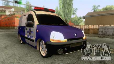 Police Car Renault Clio for GTA San Andreas