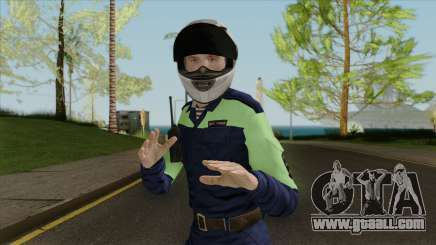DPS officer for GTA San Andreas