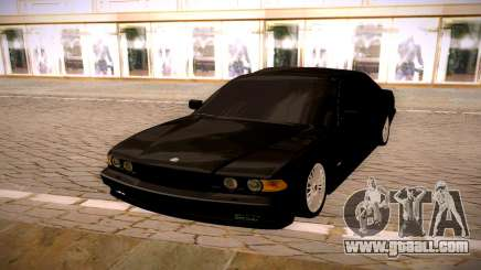 BMW 750 for GTA San Andreas