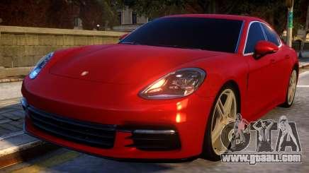 Porsche Panamera 2017 for GTA 4