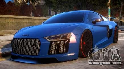 Audi R8 2017 for GTA 4