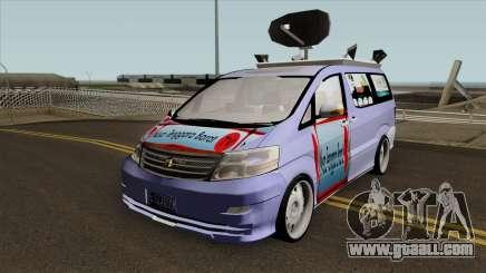 Newsvan NTBTV for GTA San Andreas