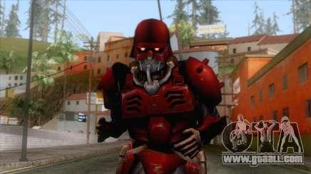 Kerberos Panzer Cop Red Skin for GTA San Andreas