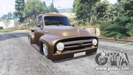 Ford FR100 1953 stance v1.1 [replace] for GTA 5