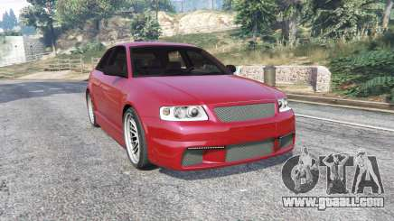 Audi A3 (8L) 2003 [replace] for GTA 5