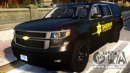 2015 Suburban Target Zero Units Police for GTA 4