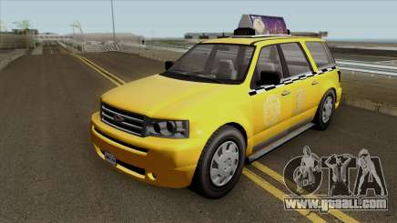 GTA V Vapid Taxi for GTA San Andreas