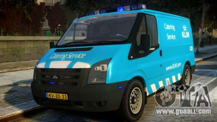 Ford Transit Catering Service KLM for GTA 4
