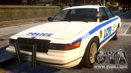 Vapid Police Cruiser for GTA 4