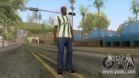 Palmeiras - Away T-Shirt for GTA San Andreas third screenshot