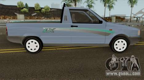 Fiat Fiorino LX for GTA San Andreas back view