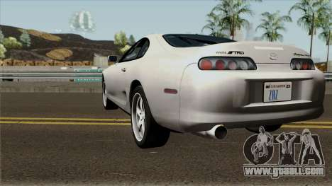 "Toyota Supra ""The Fast And The Furious"" 1995 for GTA San Andreas"