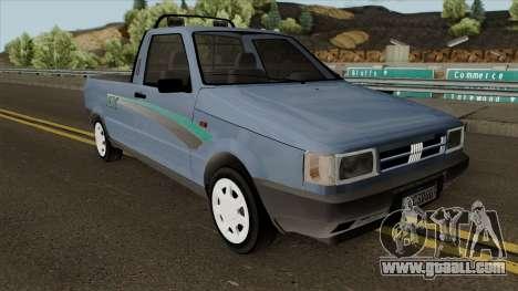 Fiat Fiorino LX for GTA San Andreas inner view