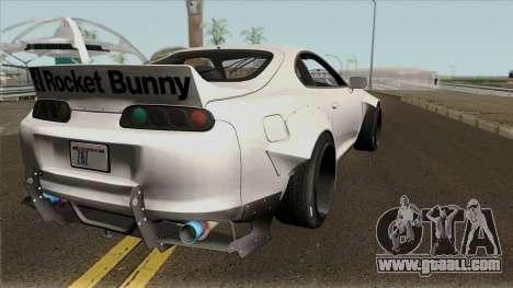 Toyota Supra Rocket Bunny 1993 for GTA San Andreas