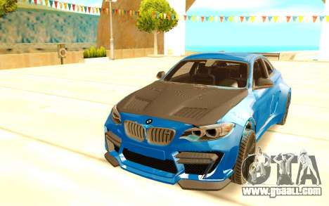 BMW M2 for GTA San Andreas back view