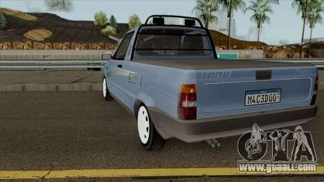 Fiat Fiorino LX for GTA San Andreas back left view