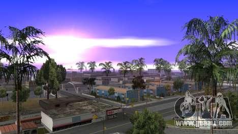 New Timecyc for GTA San Andreas
