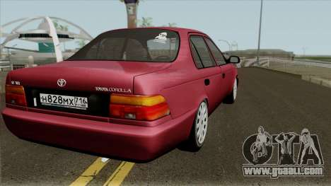 Toyota Corolla 1.6 XEi 1995 for GTA San Andreas