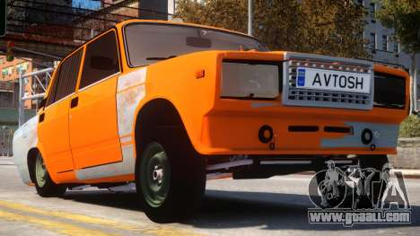 VAZ 2107 Avtosh Style for GTA 4