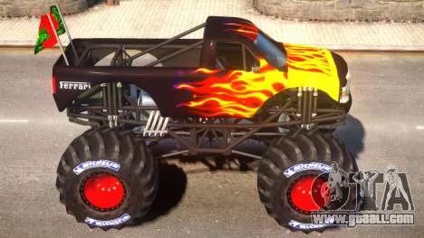 Monster Truck V.1.4 for GTA 4