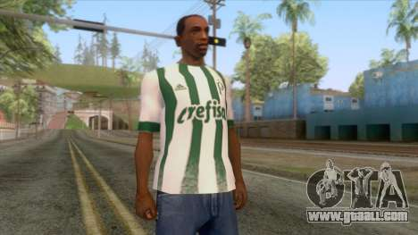 Palmeiras - Away T-Shirt for GTA San Andreas