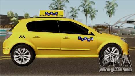 Opel Astra Taxi for GTA San Andreas